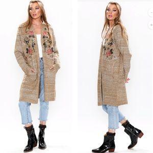 Aratta   Lady May Sweater Long Cardigan